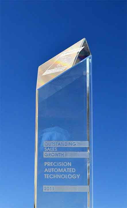 Outstanding Sales Growth Award 2011 - Precision Automated Technology