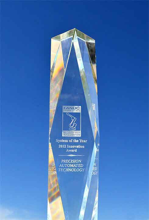 Award - System of the Year 2012 - Precision Automated Technology