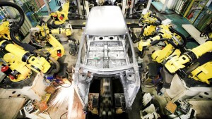 Fanuc Robots In Factory