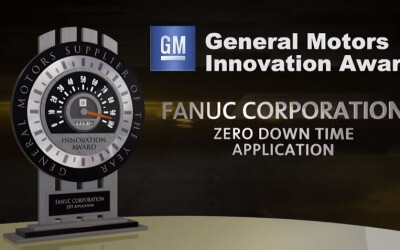 Fanuc America Wins GM Innovation Award For ZDT Application