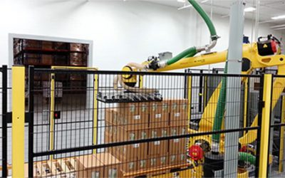 Automated Robotic Palletizing