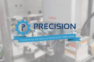 Precision Automated Technology Announces 25th Anniversary